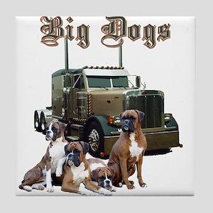 Big Dogs Tile Coaster