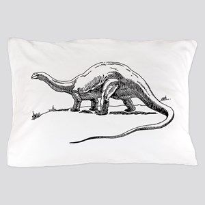 Dinosaur brontosaurus Pillow Case