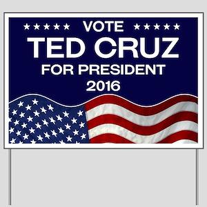 Ted Cruz Yard Sign