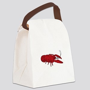 Crayfish Canvas Lunch Bag
