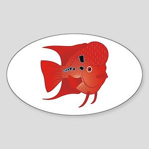 Danz Flowerhorn Fish Sticker
