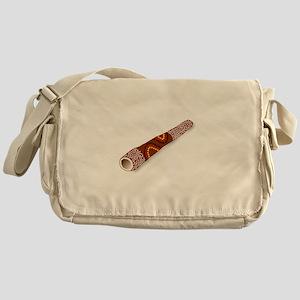 Didgeridoo Australian traditional mu Messenger Bag