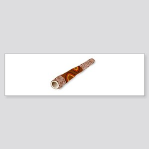 Didgeridoo Australian traditional m Bumper Sticker