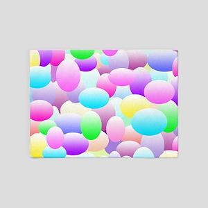 Bubble Eggs Light 5'x7'Area Rug