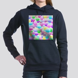 Bubble Eggs Light Women's Hooded Sweatshirt