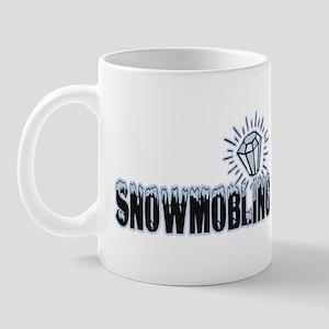 Snowmobile Bling Mug