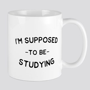 I'm Supposed To Be Studying Mugs