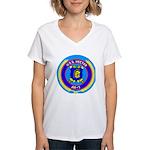USS Hector (AR 7) Women's V-Neck T-Shirt