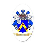 Ransome Oval Car Magnet