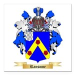 Ransome Square Car Magnet 3