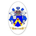 Ransome Sticker (Oval 50 pk)