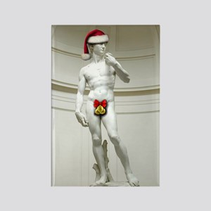Santa David Rectangle Magnet