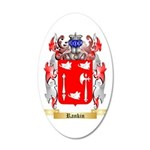 Rankin 35x21 Oval Wall Decal