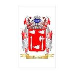 Ranken Sticker (Rectangle 50 pk)