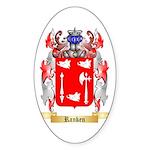 Ranken Sticker (Oval 50 pk)