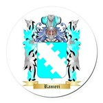 Ranieri Round Car Magnet