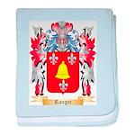 Ranger baby blanket