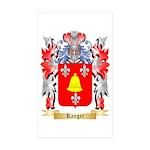 Ranger Sticker (Rectangle 50 pk)