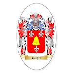Ranger Sticker (Oval 10 pk)