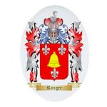 Ranger Oval Ornament