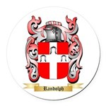 Randolph Round Car Magnet