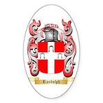 Randolph Sticker (Oval 50 pk)