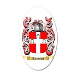 Randolph 35x21 Oval Wall Decal