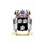 Randell Sticker (Rectangle 50 pk)