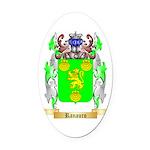 Ranauro Oval Car Magnet