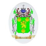 Ranauro Oval Ornament