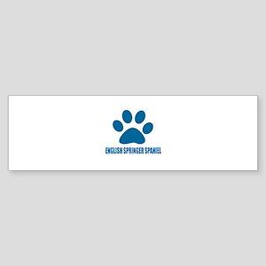 English Springer Spaniel Dog Desi Sticker (Bumper)