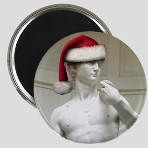 Santa David Magnet