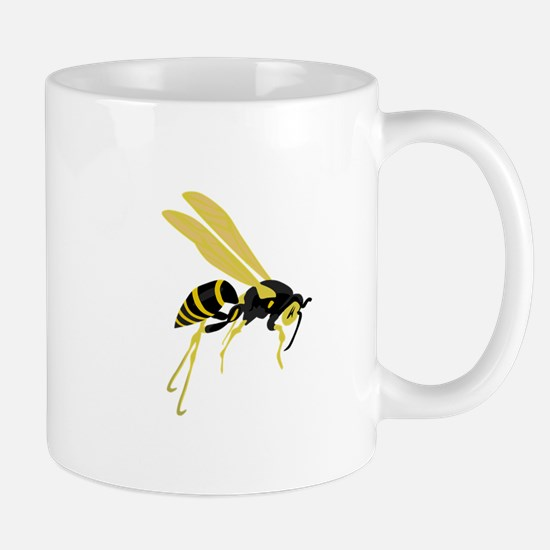 Flying Wasp Mugs