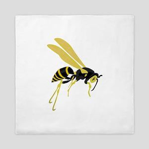 Flying Wasp Queen Duvet
