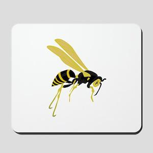 Flying Wasp Mousepad