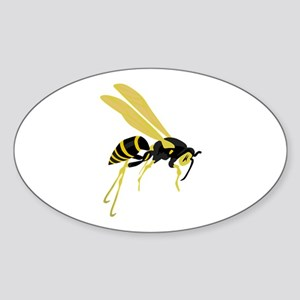 Flying Wasp Sticker