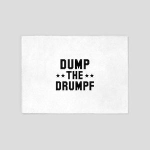 Dump The Drumpf 5'x7'Area Rug