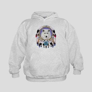 Native American Wolf Spirit Hoodie