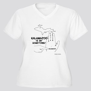 Kalamazoo Women's Plus Size V-Neck T-Shirt