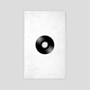 Vinyl disc record Area Rug
