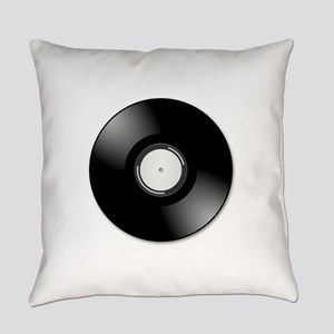 Vinyl disc record Everyday Pillow