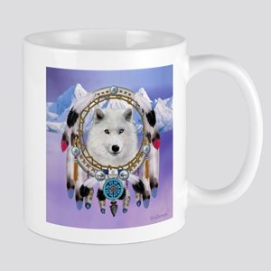 Native American Wolf Spirit Mugs