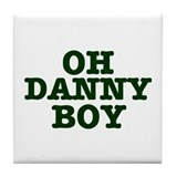 Danny boy Tile Coasters