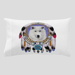 Native American Wolf Spirit Pillow Case