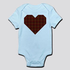Bruce Hunting Geo Heart Body Suit