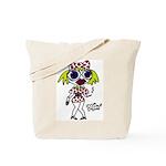 Monster Girlfriend Tote Bag
