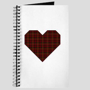 Bruce Hunting Geo Heart Journal