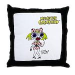 Monster Girlfriend Throw Pillow