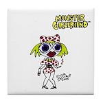 Monster Girlfriend Tile Coaster