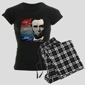Patriot Abraham Lincoln Women's Dark Pajamas